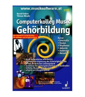Computerkolleg Musik Gehörbildung