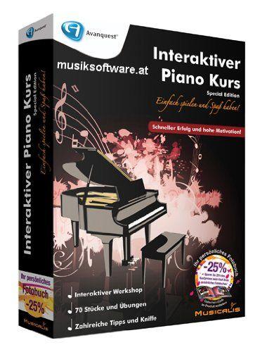 Interaktiver Piano Kurs