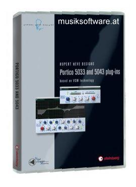 Steinberg RND Portico 5033 + 5043 Plug-In Bundle